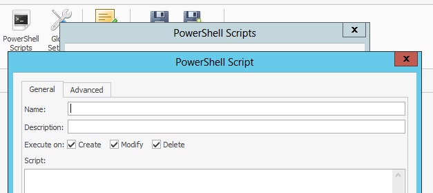 Run Power Shell Script To Delete Home Folder
